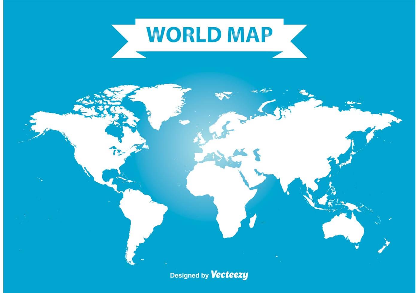 25 Free World Map Vectors and PSDs | Inspirationfeed