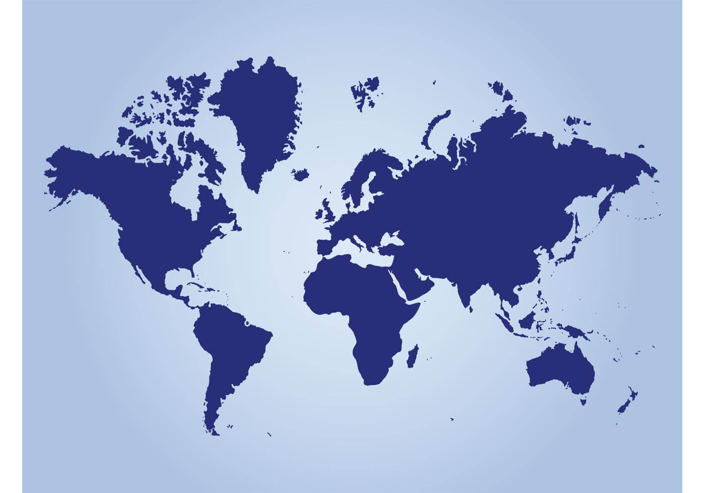 World Geography Vector
