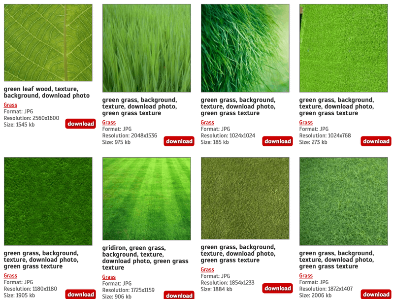 40 Beautiful Grass Textures (1)