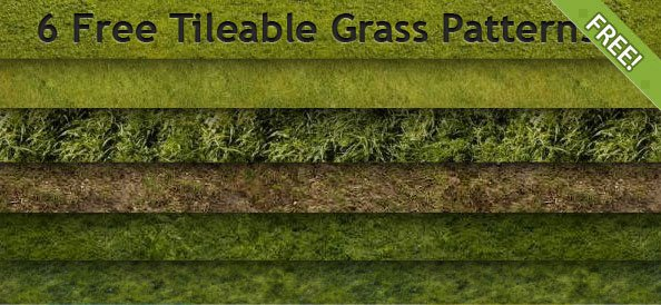 Free Tileable Grass Patterns
