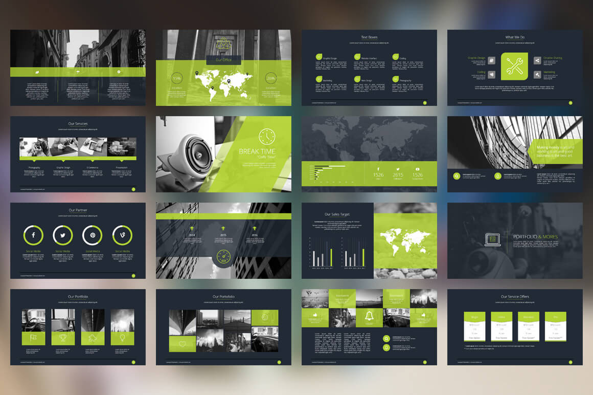 20 outstanding professional powerpoint templates inspirationfeed