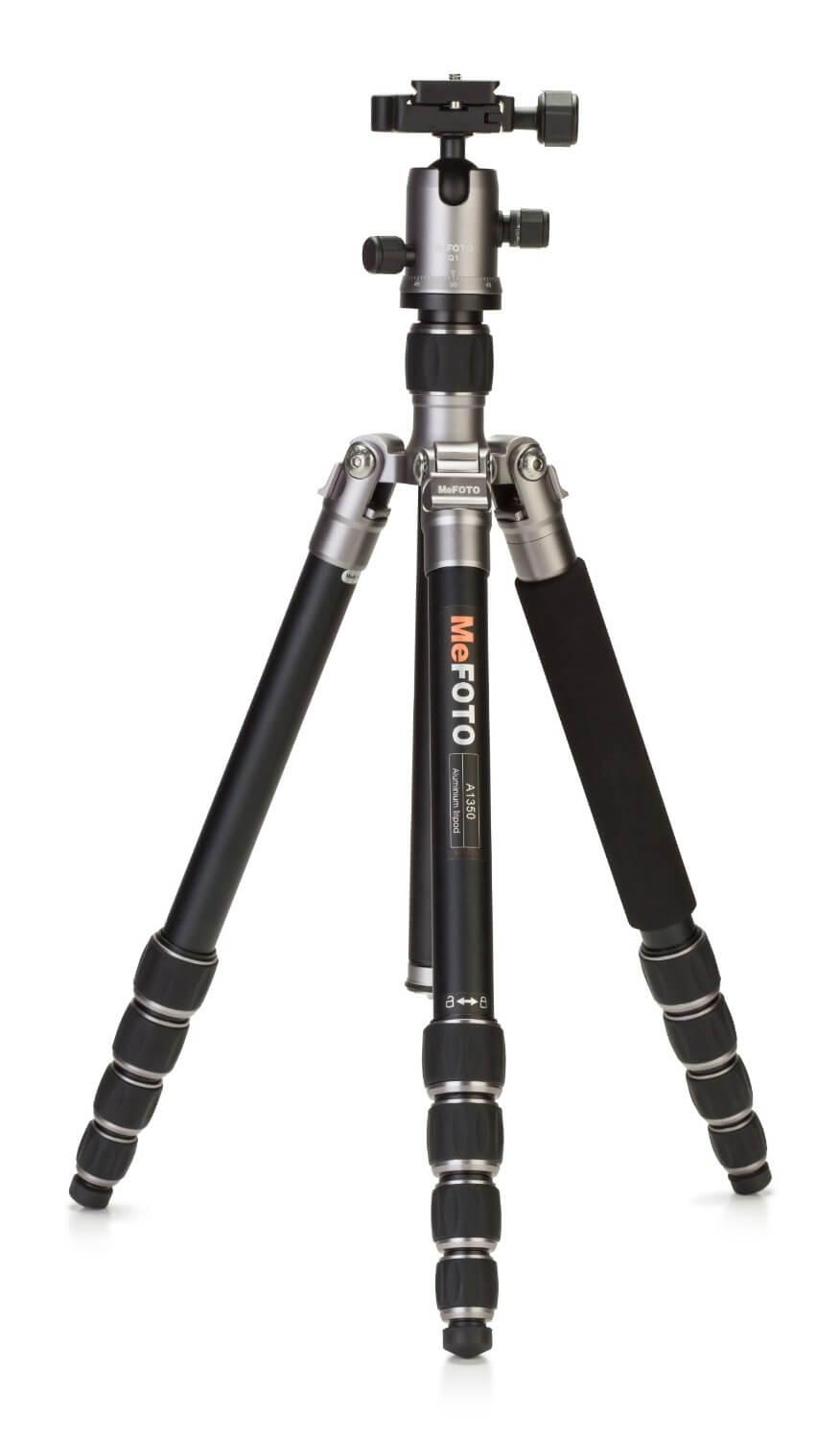 MeFoTo A1350Q1T Aluminium Roadtrip Travel Tripod Kit-min
