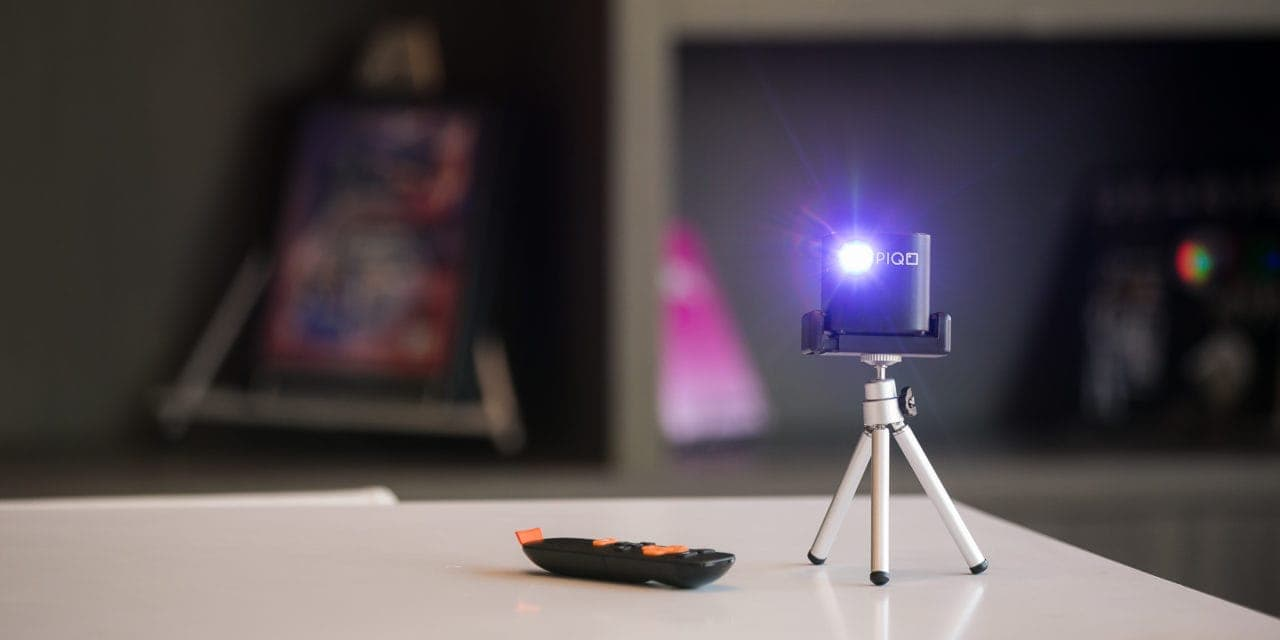 Piqo Pocket-sized Portable HD Projector