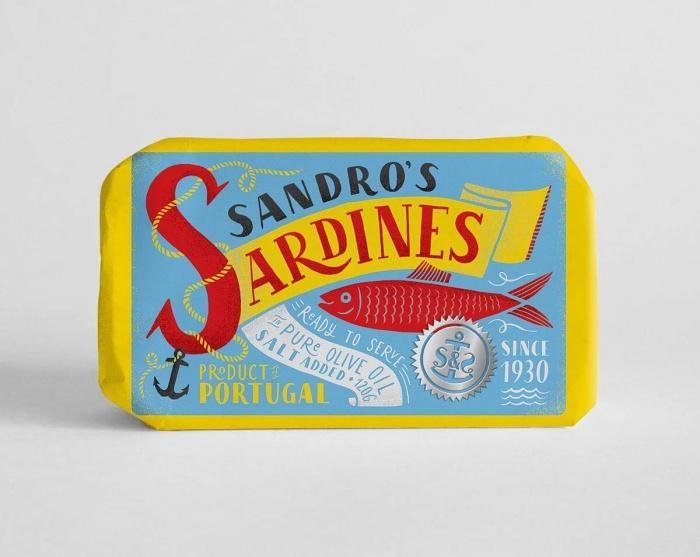 Sardines Packaging by Maria Mordvintseva (1)