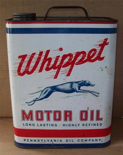 Motor Oil Can design packaging