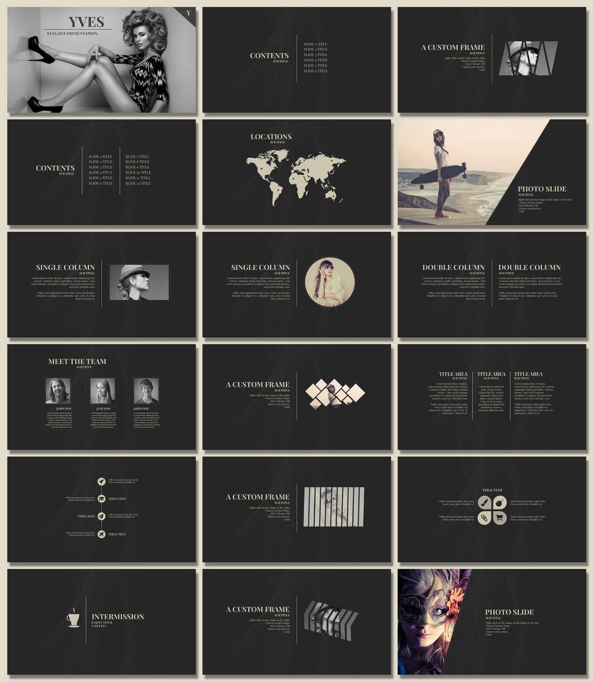 20 Outstanding Professional Powerpoint Templates For Your Next Project Inspirationfeed