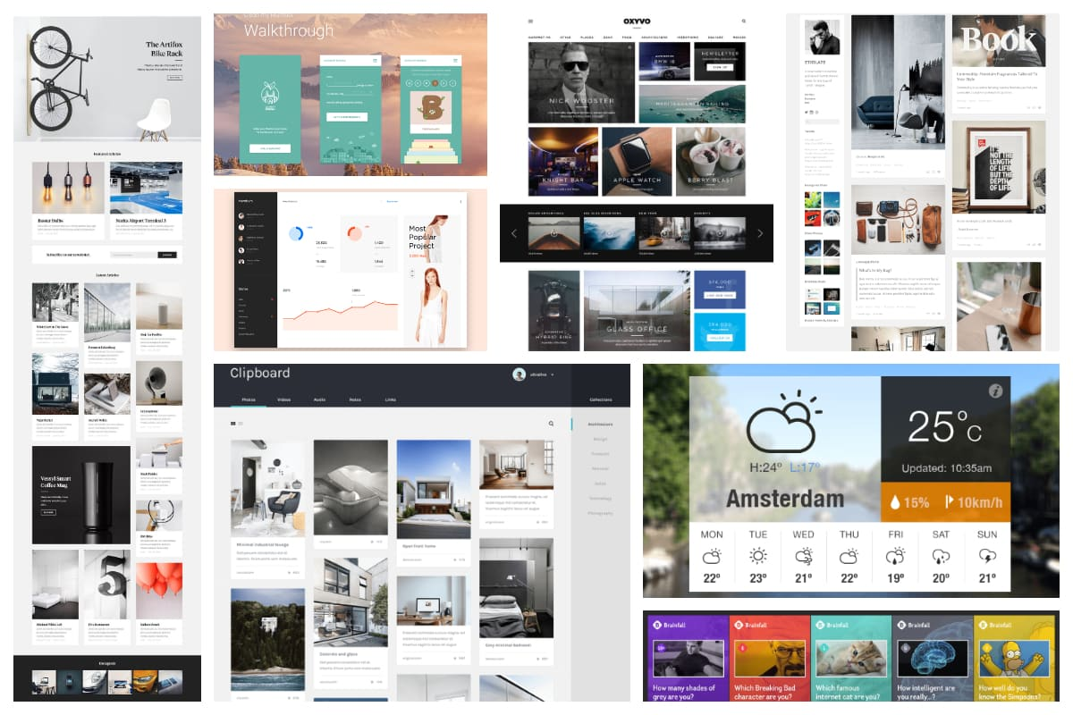 25 Card Based Web Design Examples Inspirationfeed