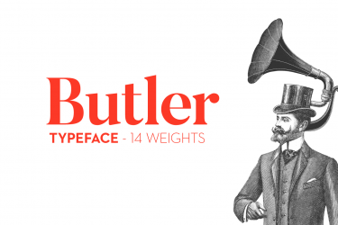 Butler Font Preview