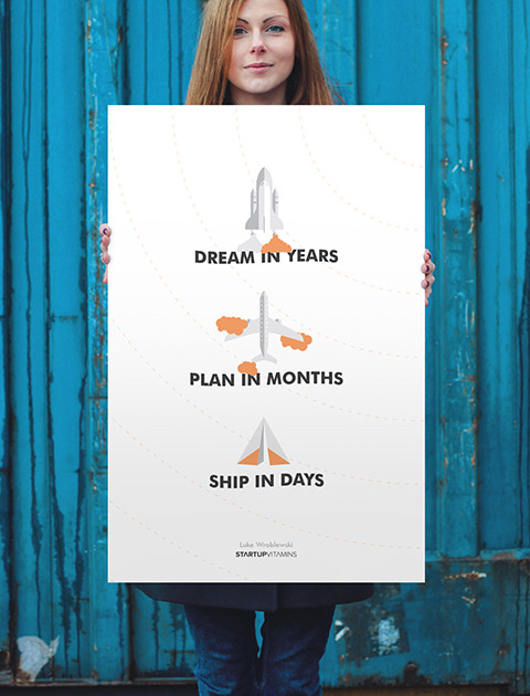 Dream In Years, Plan In Months, Ship in Days