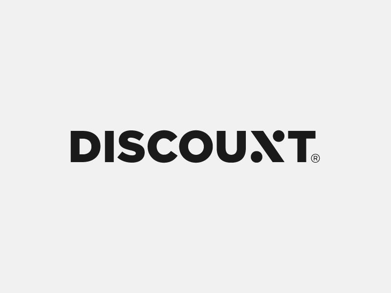 Discount Logo by Paulius Kairevicius
