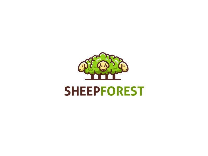 Sheepforest by Bodea Daniel