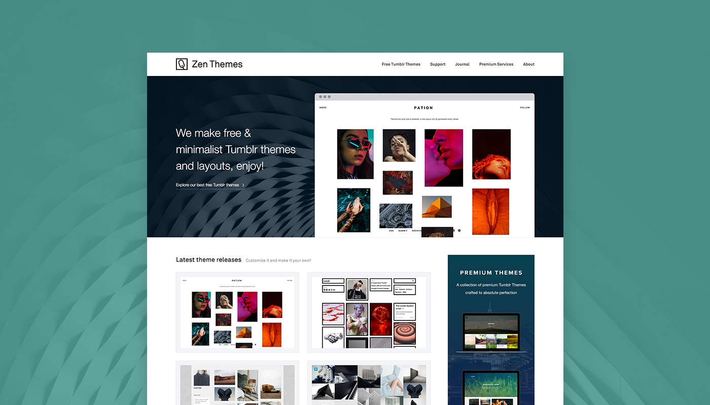Zen Themes - Web Design is a Living and Breathing Creative