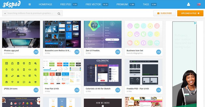 02-365psd-screenshot-freebies
