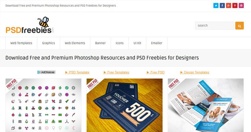 11-freebie-psd-bee-website-homepage