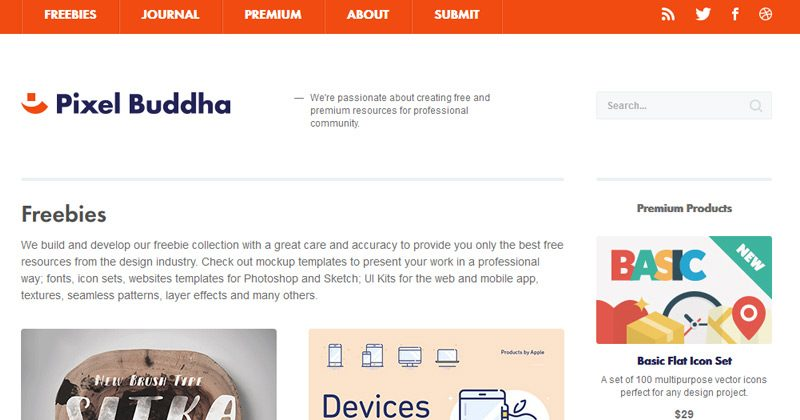 15-pixel-buddha-homepage-freebies-website