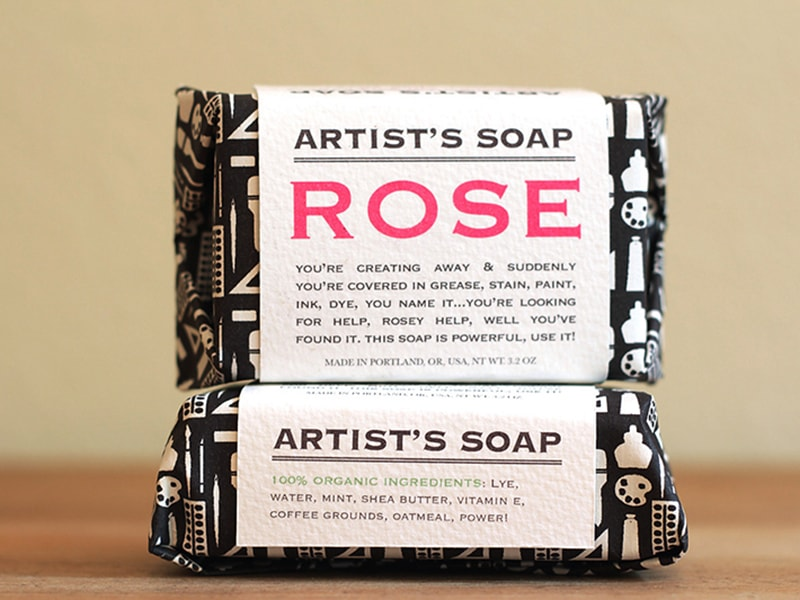 Artist's Soap by Julie Rose