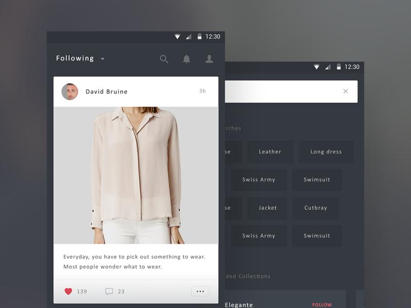 Fashion Inspiration Android App