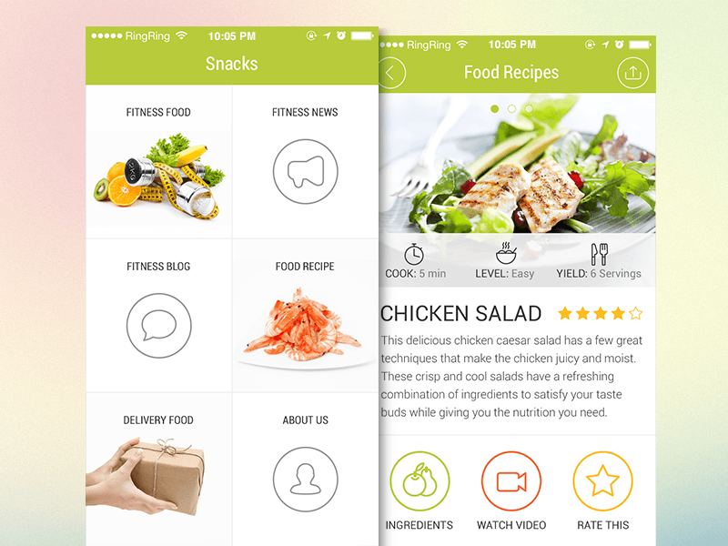 Food Delivery App Design (1)