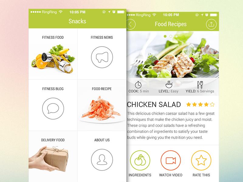 Food Delivery App Design (1)