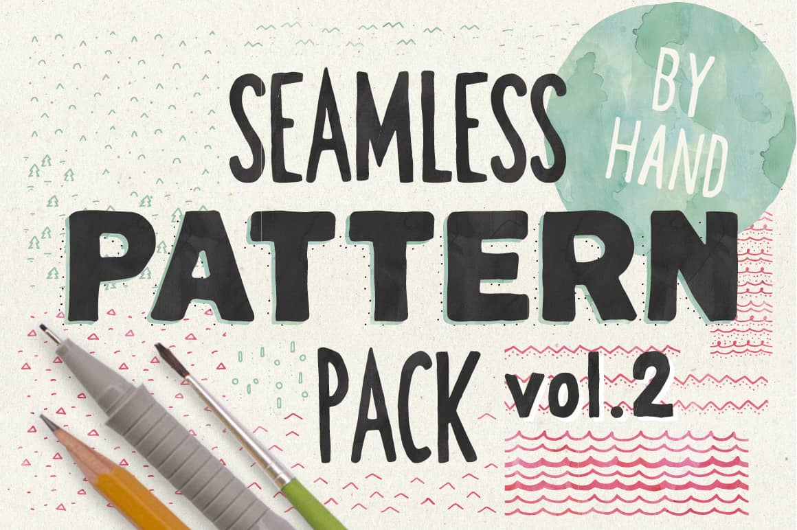 HandSketched Seampless Patterns