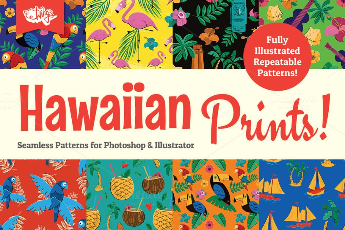 Hawaiian Prints and Patterns