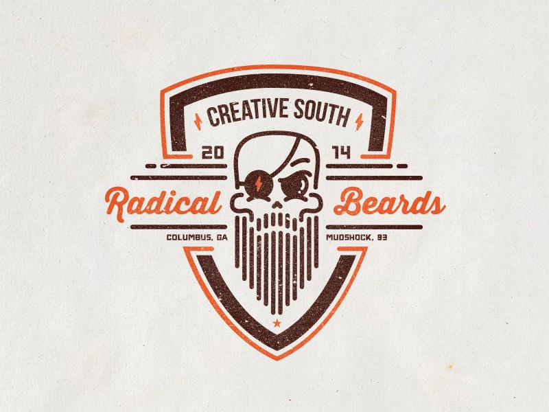 Radical Beards Club Badge by Frank Rodriguez (1)