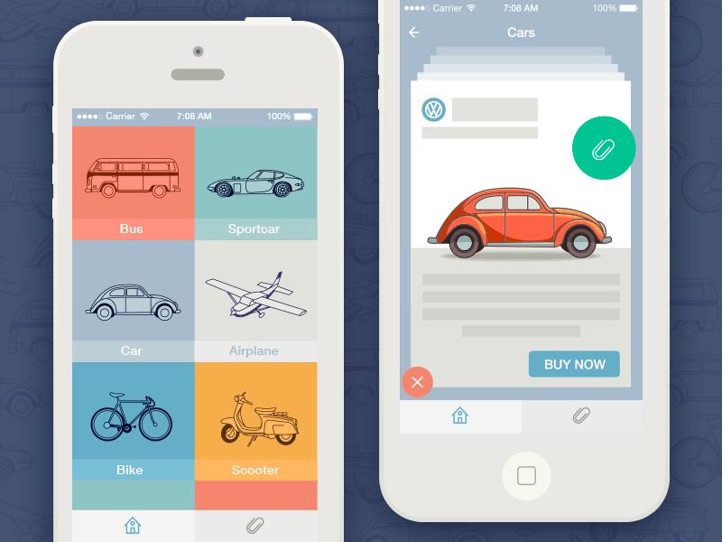 Transport app concept by Dasha (1)