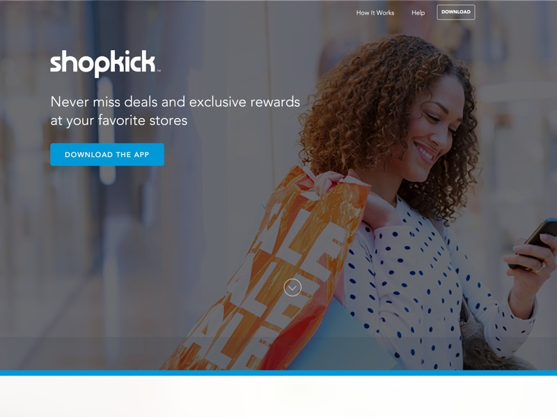 Shopkick is the first mobile app that gives you rewards and offers simply for walking into stores. You can collect kicks and bonuses at nearly all places around you.