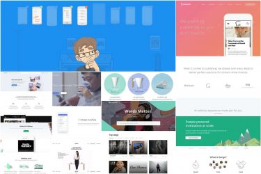Landing Page Design Inspirationb
