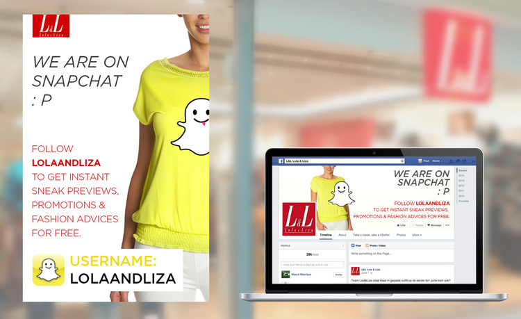 Snapchat Marketing Lola and Liza