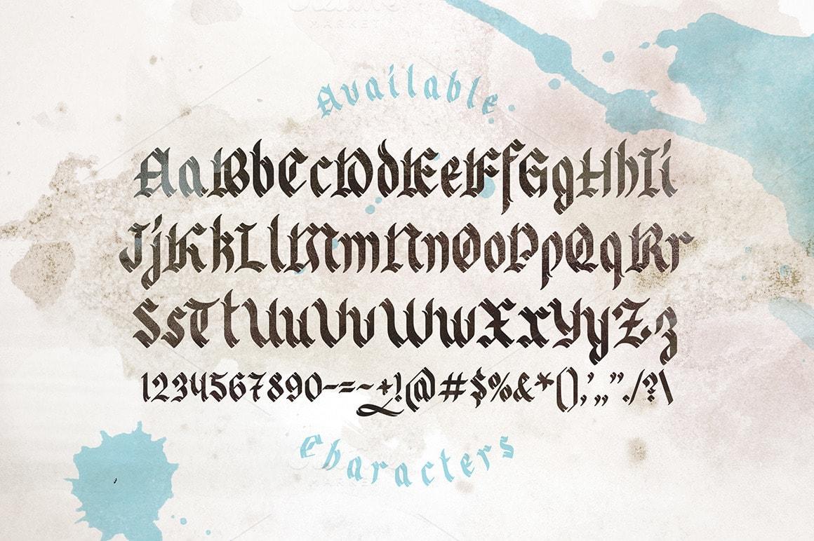 Odd times typeface-min