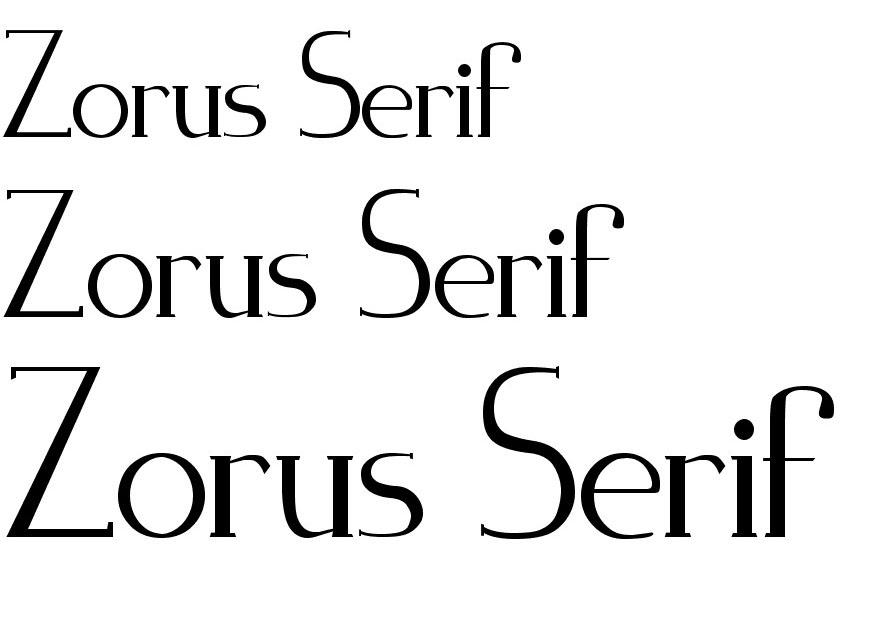 4zorus_serif
