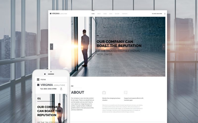 Reliable Corporate Joomla Template