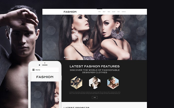 Online Fashion Joomla Template