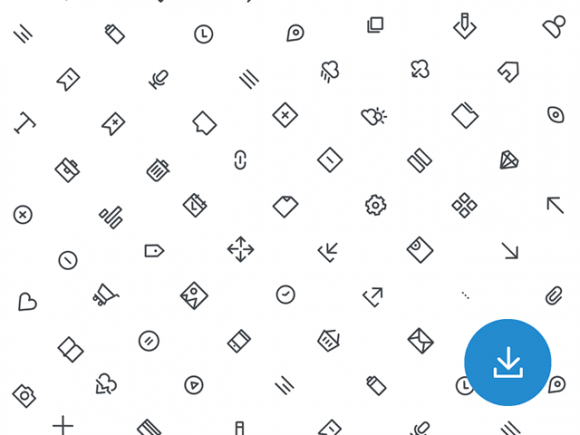 Free basic outline icons