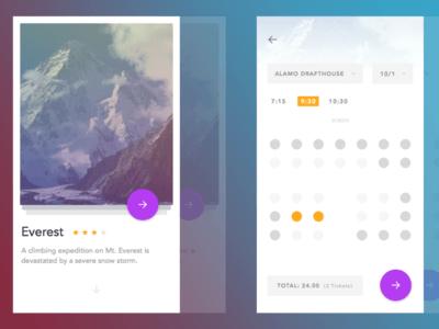 Cinema App for sketch