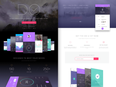 UI Kit for Photoshop & Sketch
