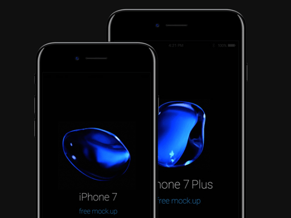 free mockup collection for iPhone 7