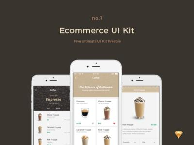 Ecommerce UI Kit Freebie