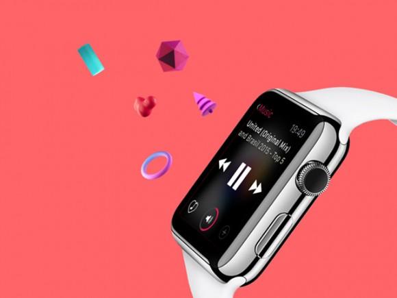 Free UI kit for Apple Watch