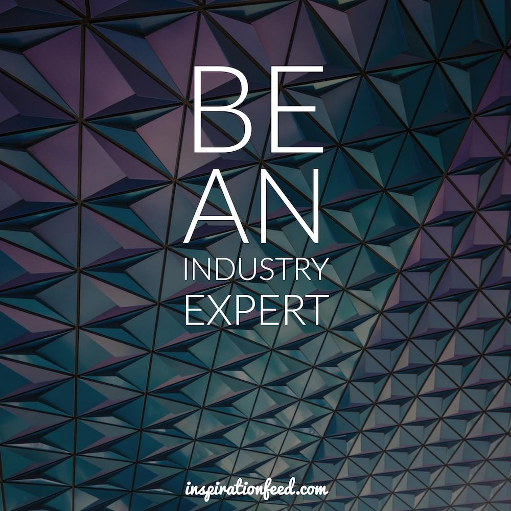 be-an-industry-expert