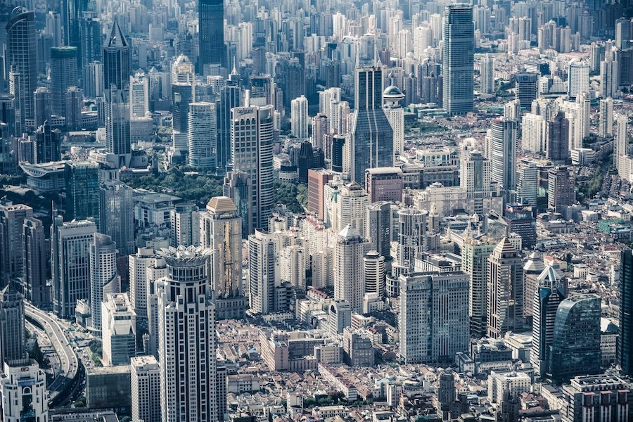 picture of a huge metropolitan city