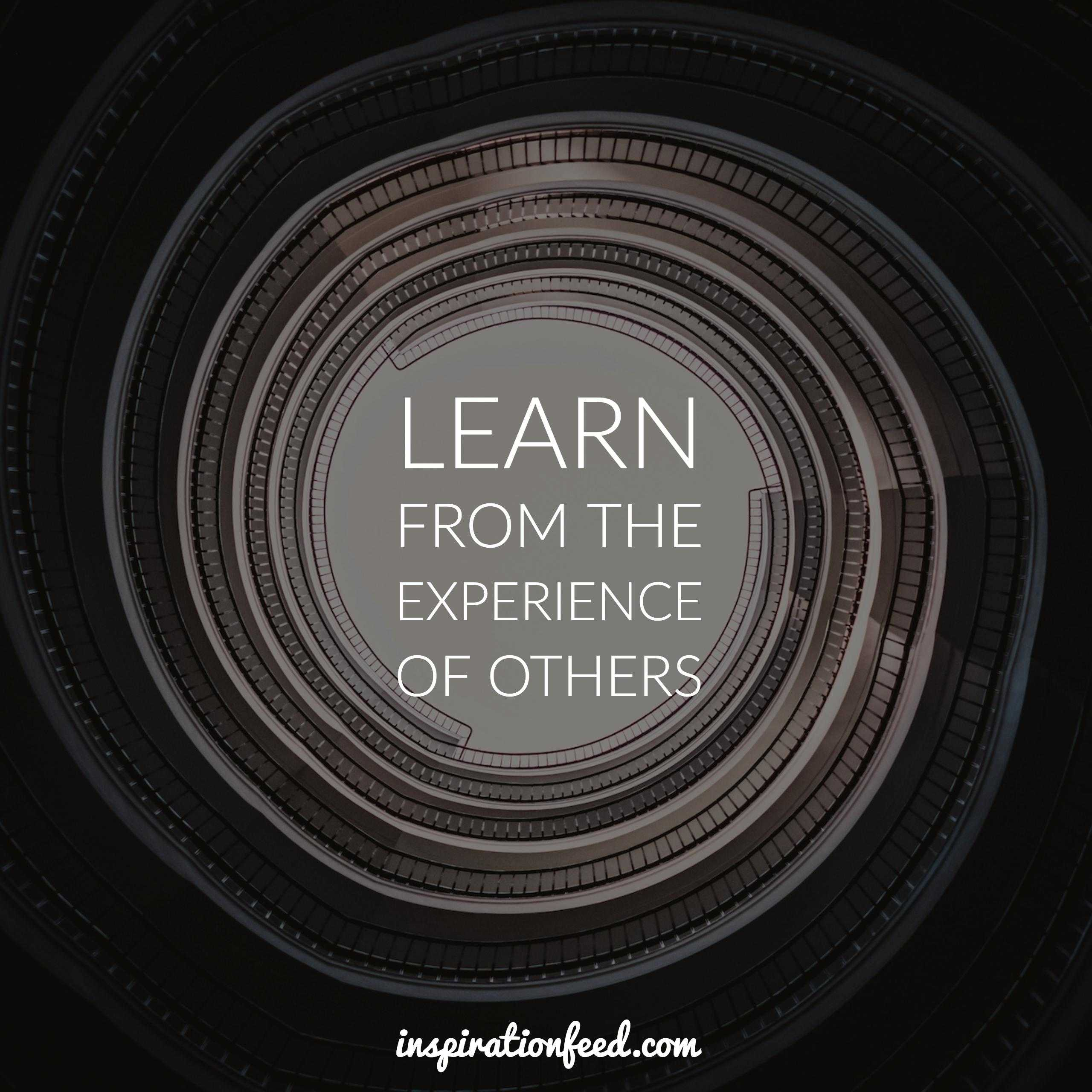 learn-from-the-experience-of-others