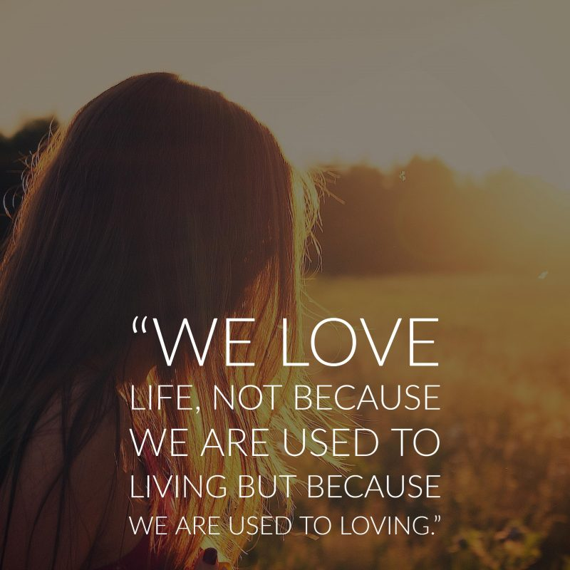 40 Quotes About Love : 40 Inspirational Quotes About Life and Love Inspirationfeed