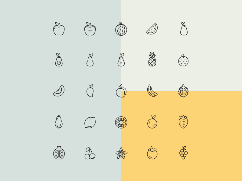 1,100 Free Food Icons