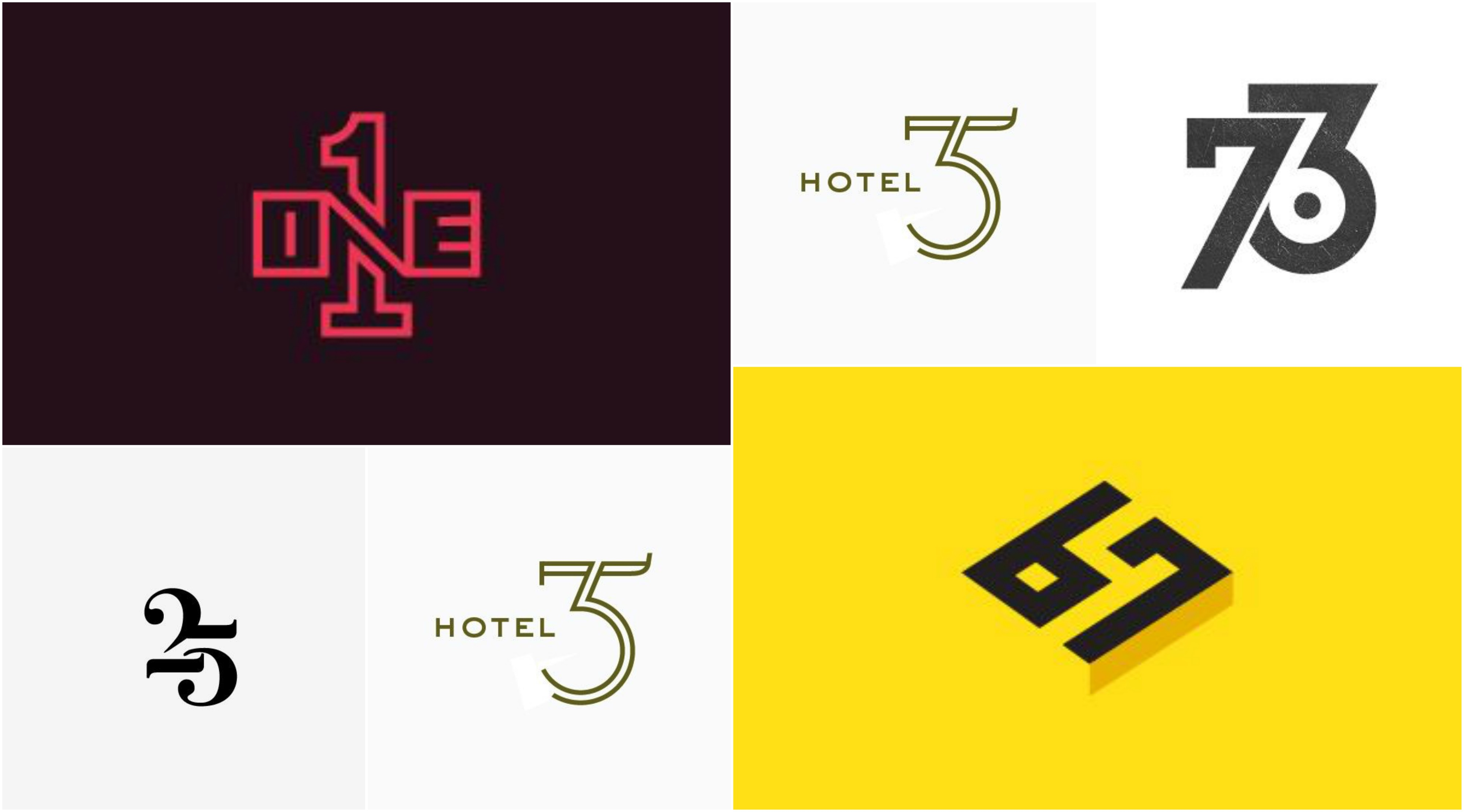 Inspired-Number-Logo-Designs