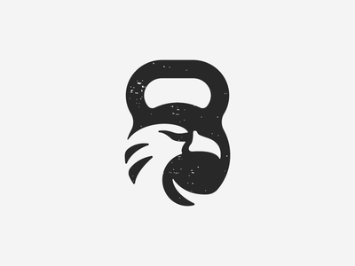 Number logo design
