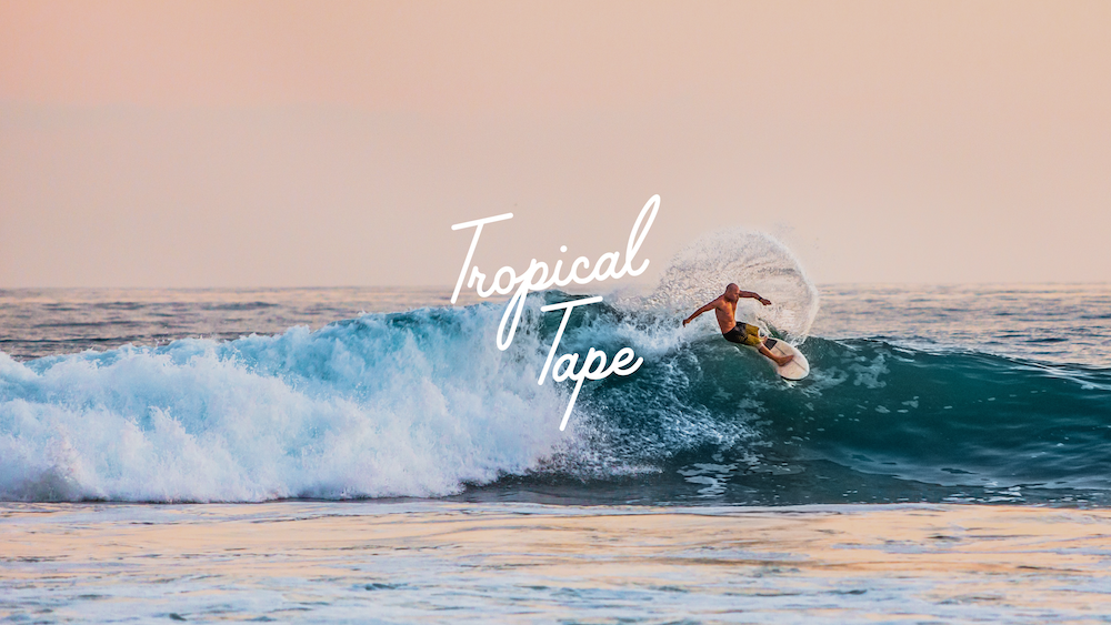 Tropical Tape Youtube Thumbnail