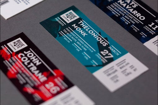 40 ticket designs that will inspire you