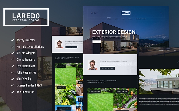 Laredo wordpress theme
